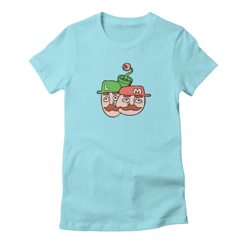 Bros Women's Fitted T-Shirt by CHRIS VIG'S SHIRTSTUFFS