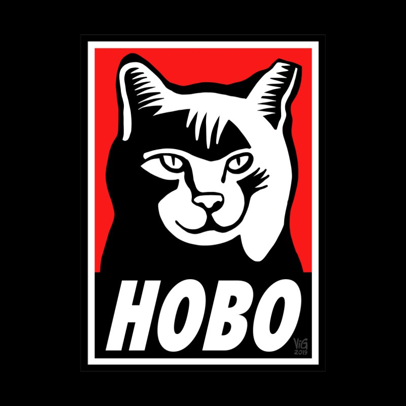 Hobo Harry by CHRIS VIG'S SHIRTSTUFFS