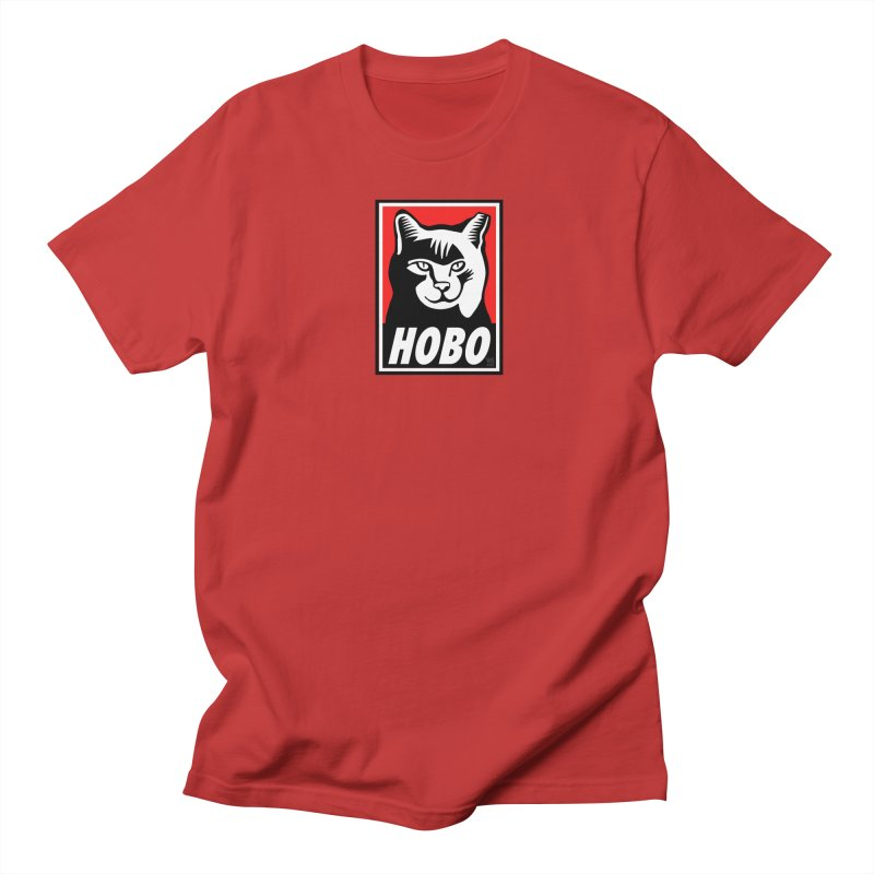 Hobo Harry Women's Regular Unisex T-Shirt by CHRIS VIG'S SHIRTSTUFFS