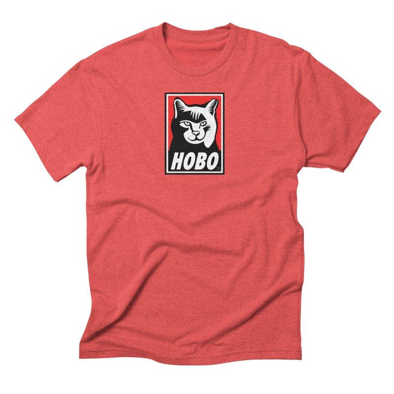 Hobo Harry Men's Triblend T-Shirt by CHRIS VIG'S SHIRTSTUFFS