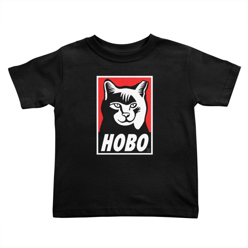 Hobo Harry Kids Toddler T-Shirt by CHRIS VIG'S SHIRTSTUFFS