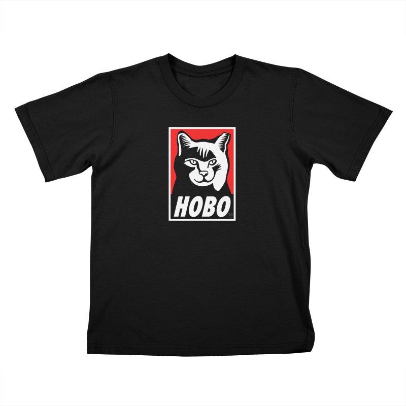 Hobo Harry Kids T-Shirt by CHRIS VIG'S SHIRTSTUFFS