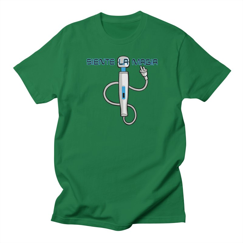Siente La Magia (Feel The Magic) Men's T-Shirt by CHRIS VIG'S SHIRTSTUFFS