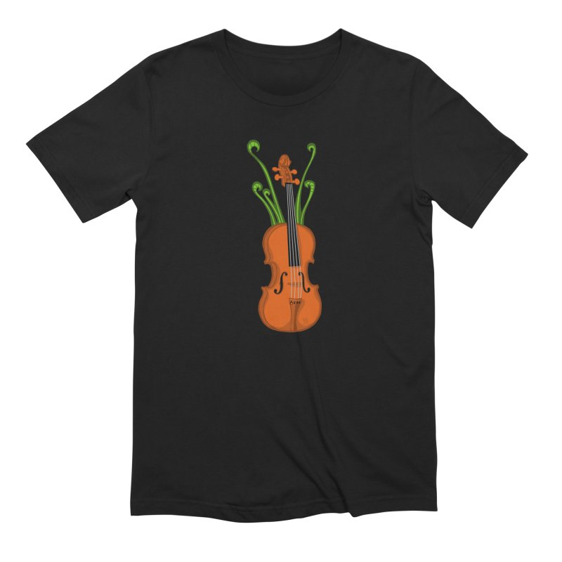 Fiddleheads Men's T-Shirt by CHRIS VIG'S SHIRTSTUFFS