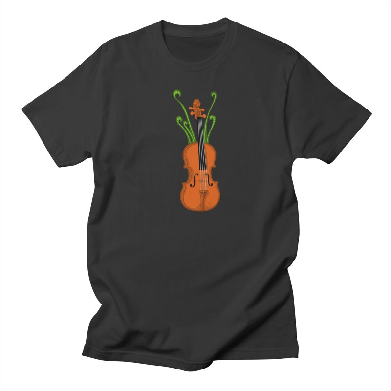 Fiddleheads Women's Regular Unisex T-Shirt by CHRIS VIG'S SHIRTSTUFFS
