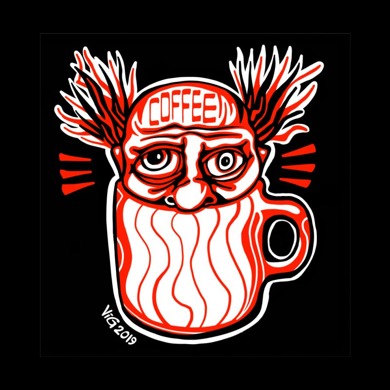 COFFEE Men's T-Shirt by CHRIS VIG'S SHIRTSTUFFS