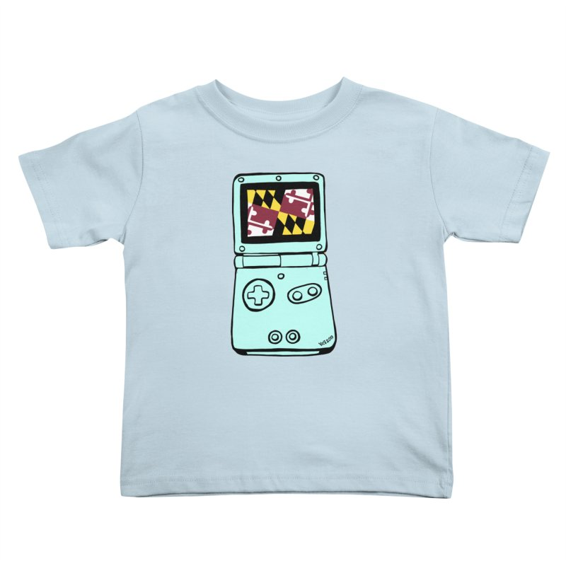 Marylantendo Gaithersboy Advance SP Kids Toddler T-Shirt by CHRIS VIG'S SHIRTSTUFFS