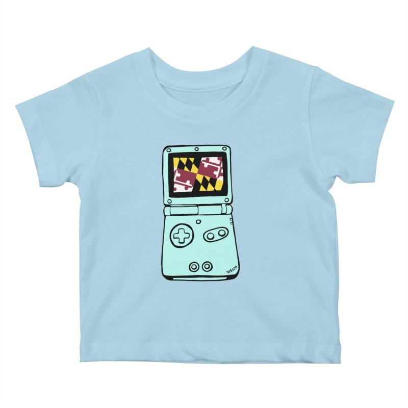 Marylantendo Gaithersboy Advance SP Kids Baby T-Shirt by CHRIS VIG'S SHIRTSTUFFS