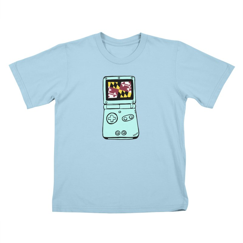 Marylantendo Gaithersboy Advance SP Kids T-Shirt by CHRIS VIG'S SHIRTSTUFFS