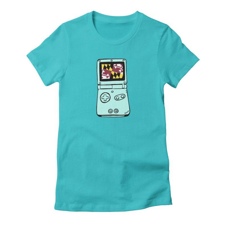 Marylantendo Gaithersboy Advance SP Women's Fitted T-Shirt by CHRIS VIG'S SHIRTSTUFFS