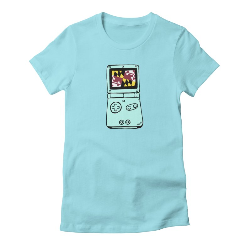 Marylantendo Gaithersboy Advance SP Women's Fitted T-Shirt by CHRIS VIG'S SHIRTSTUFFS