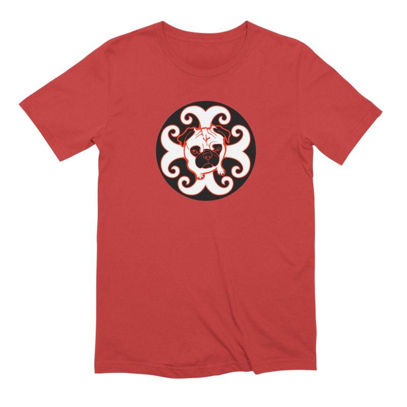 Sunshine Pug Men's Extra Soft T-Shirt by CHRIS VIG'S SHIRTSTUFFS