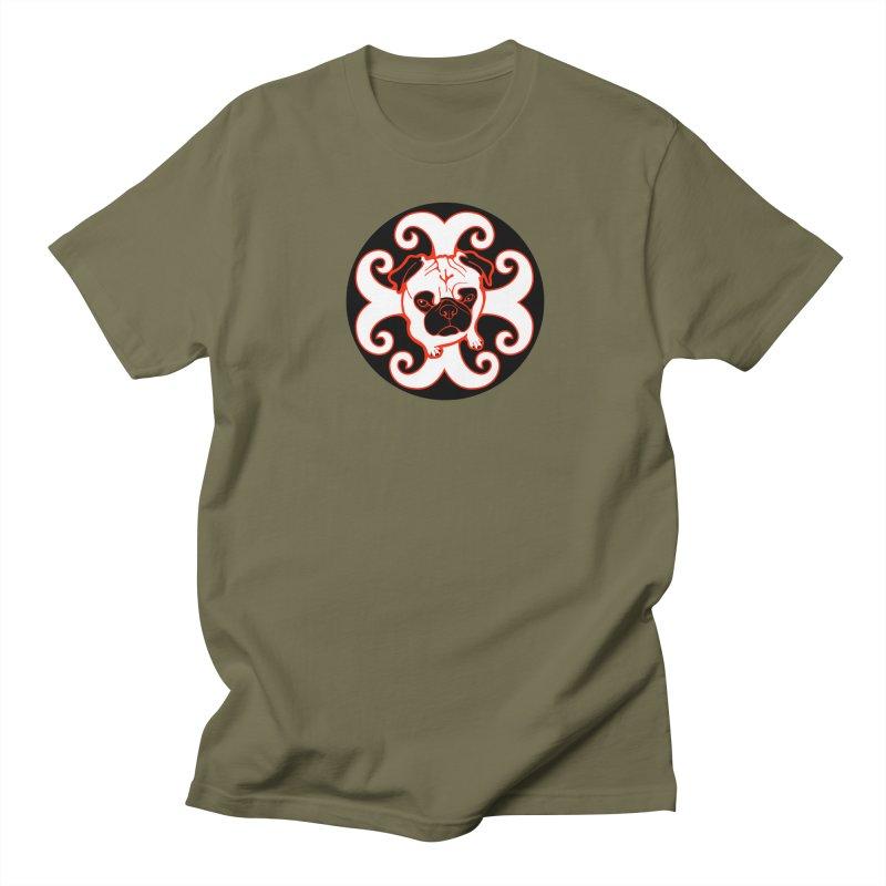 Sunshine Pug Women's Regular Unisex T-Shirt by CHRIS VIG'S SHIRTSTUFFS