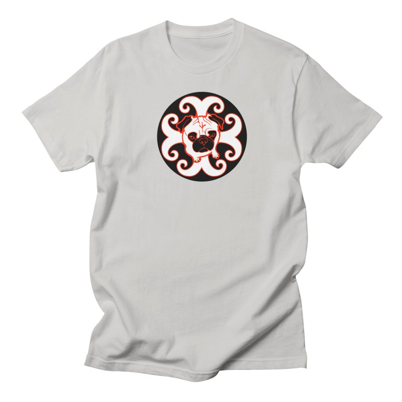 Sunshine Pug Men's Regular T-Shirt by CHRIS VIG'S SHIRTSTUFFS