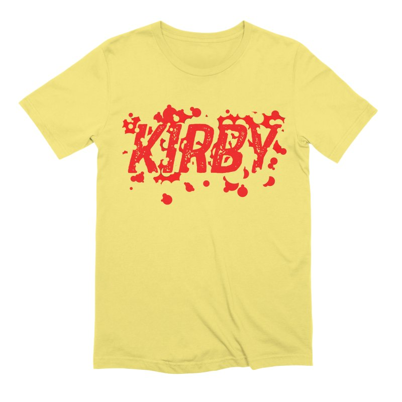 Kirby! Men's Extra Soft T-Shirt by Chris Williams' Artist Shop