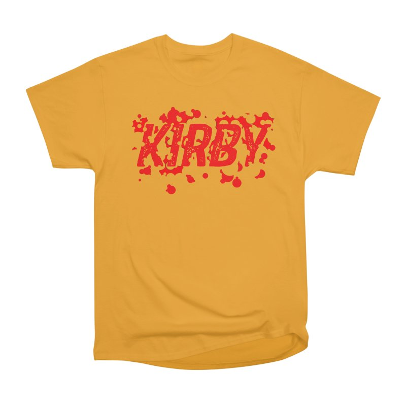 Kirby! Women's Heavyweight Unisex T-Shirt by Chris Williams' Artist Shop