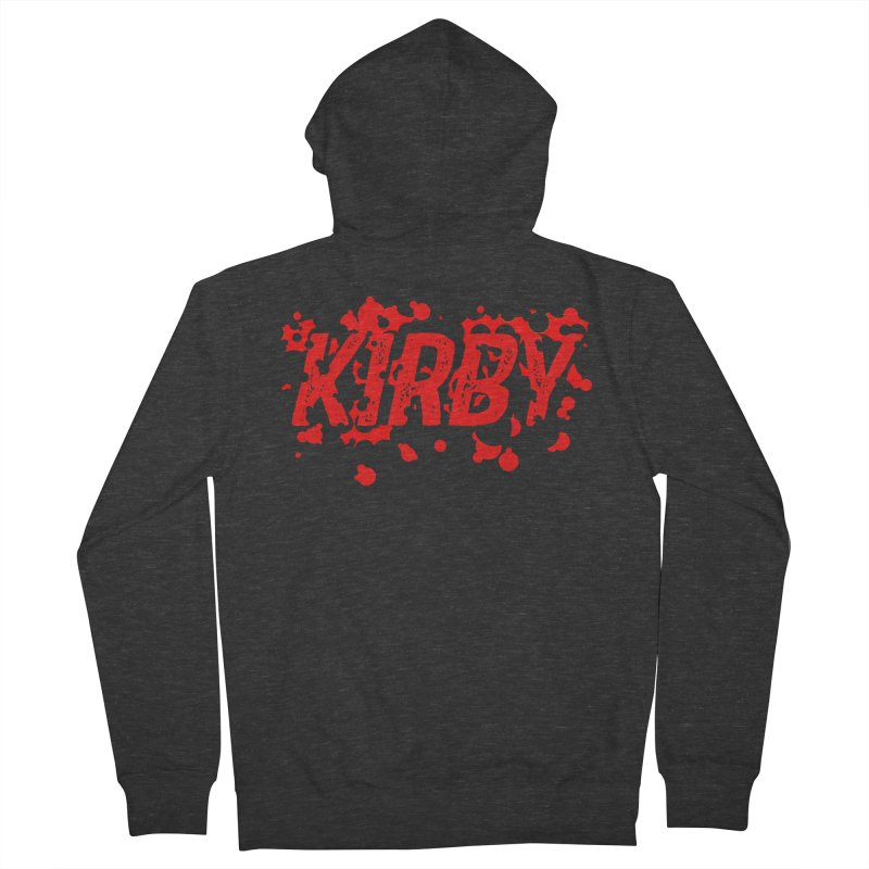 Kirby! Women's French Terry Zip-Up Hoody by Chris Williams' Artist Shop