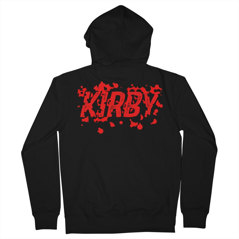 Kirby! Men's French Terry Zip-Up Hoody by Chris Williams' Artist Shop