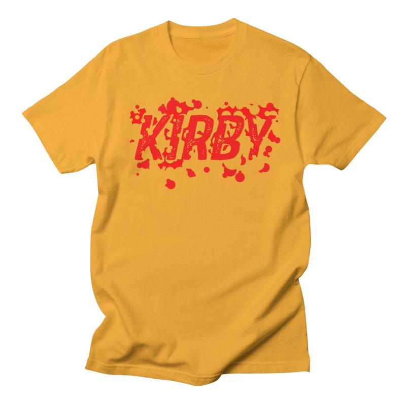 Kirby! Men's Regular T-Shirt by Chris Williams' Artist Shop