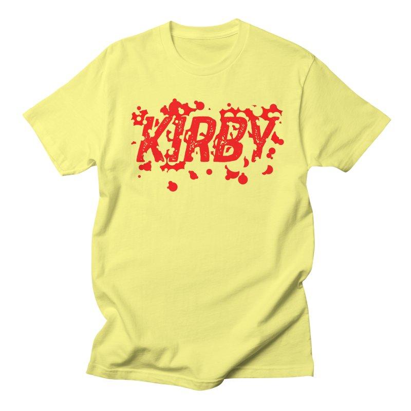 Kirby! Women's Regular Unisex T-Shirt by Chris Williams' Artist Shop