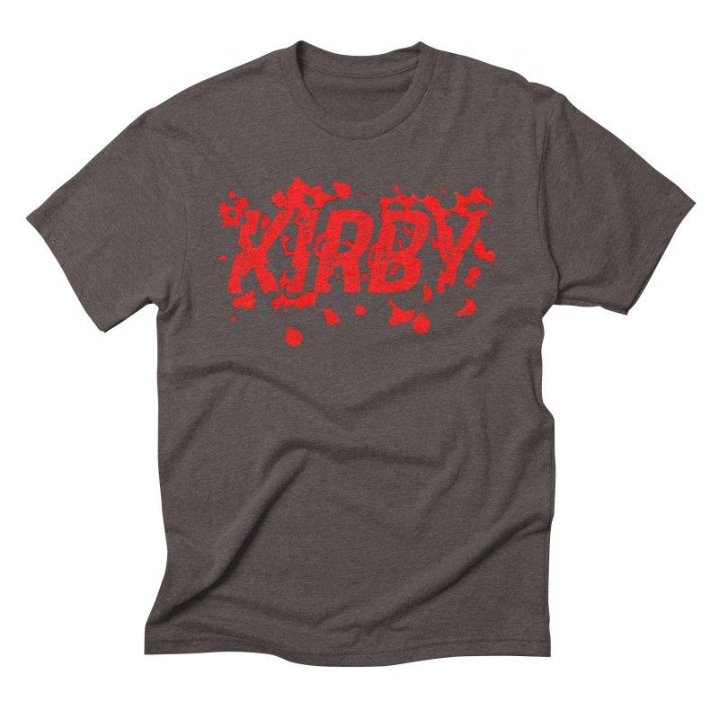 Kirby! Men's Triblend T-Shirt by Chris Williams' Artist Shop