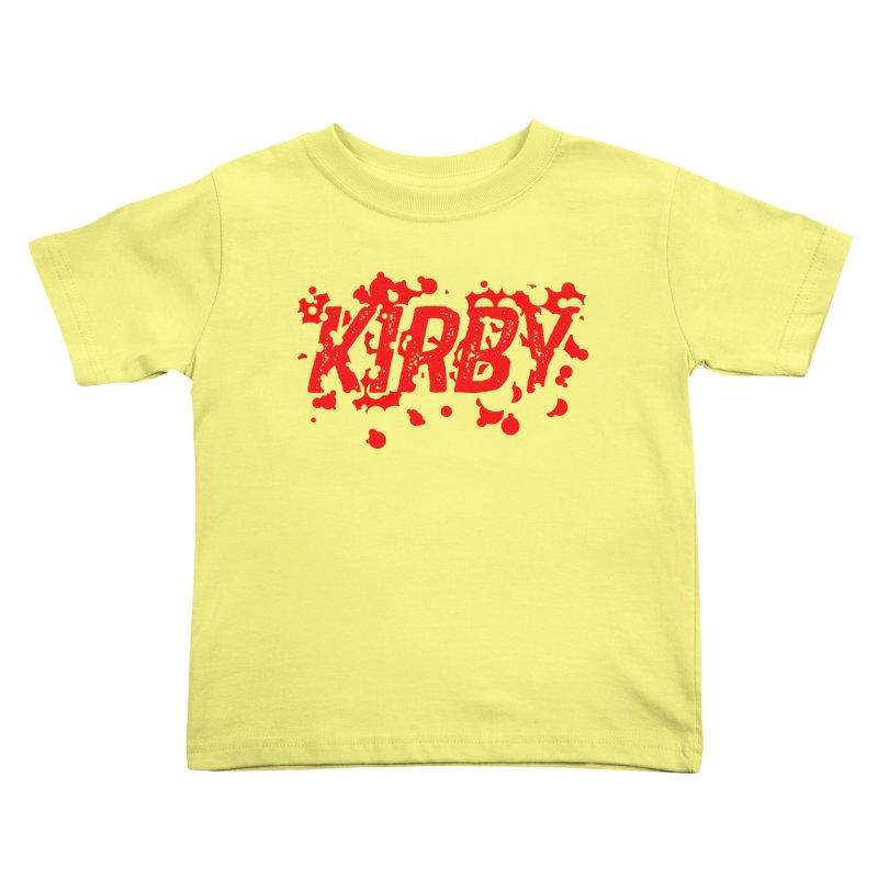 Kirby! Kids Toddler T-Shirt by Chris Williams' Artist Shop
