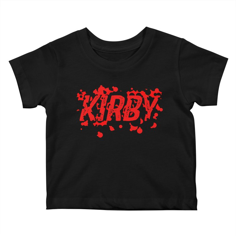Kirby! Kids Baby T-Shirt by Chris Williams' Artist Shop