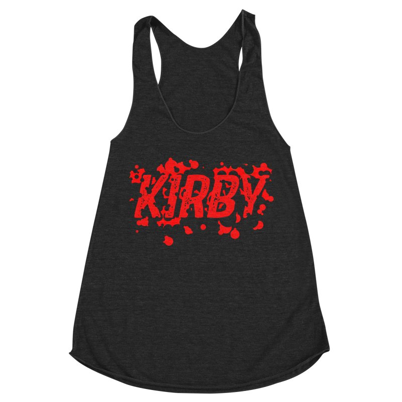 Kirby! Women's Racerback Triblend Tank by Chris Williams' Artist Shop