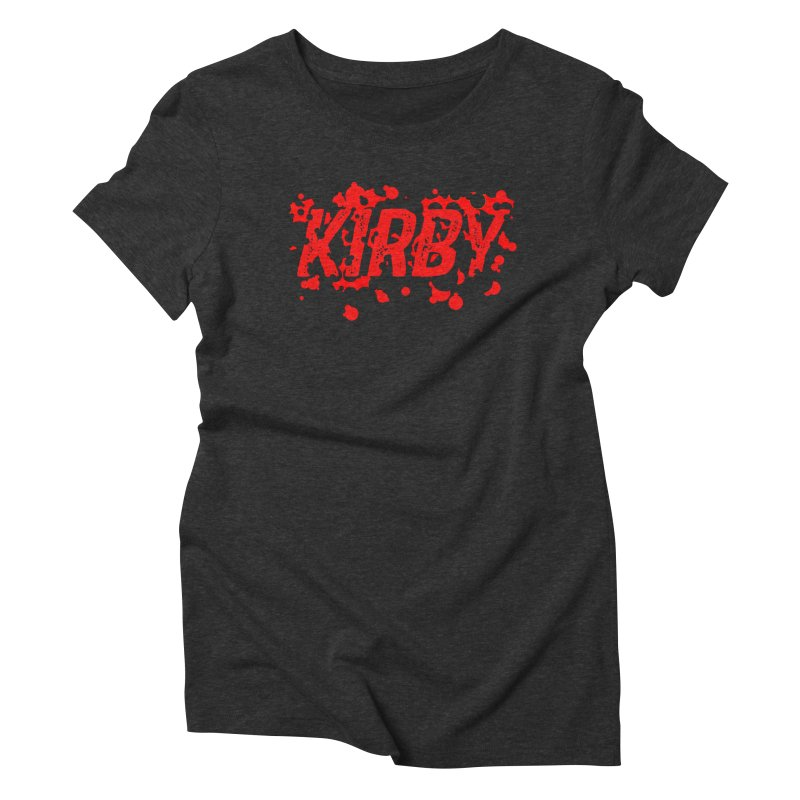 Kirby! Women's Triblend T-Shirt by Chris Williams' Artist Shop