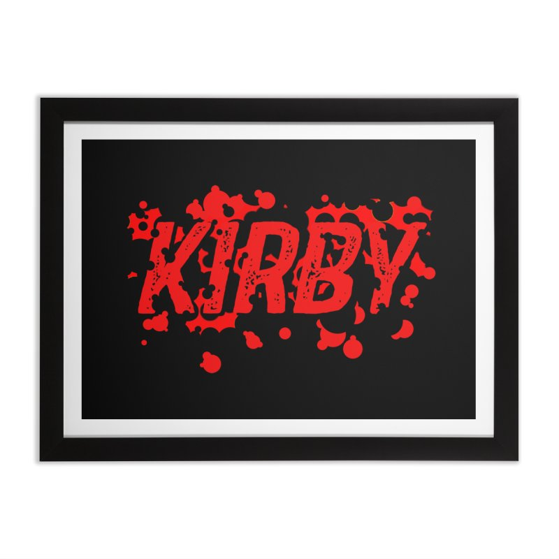 Kirby! Home Framed Fine Art Print by Chris Williams' Artist Shop