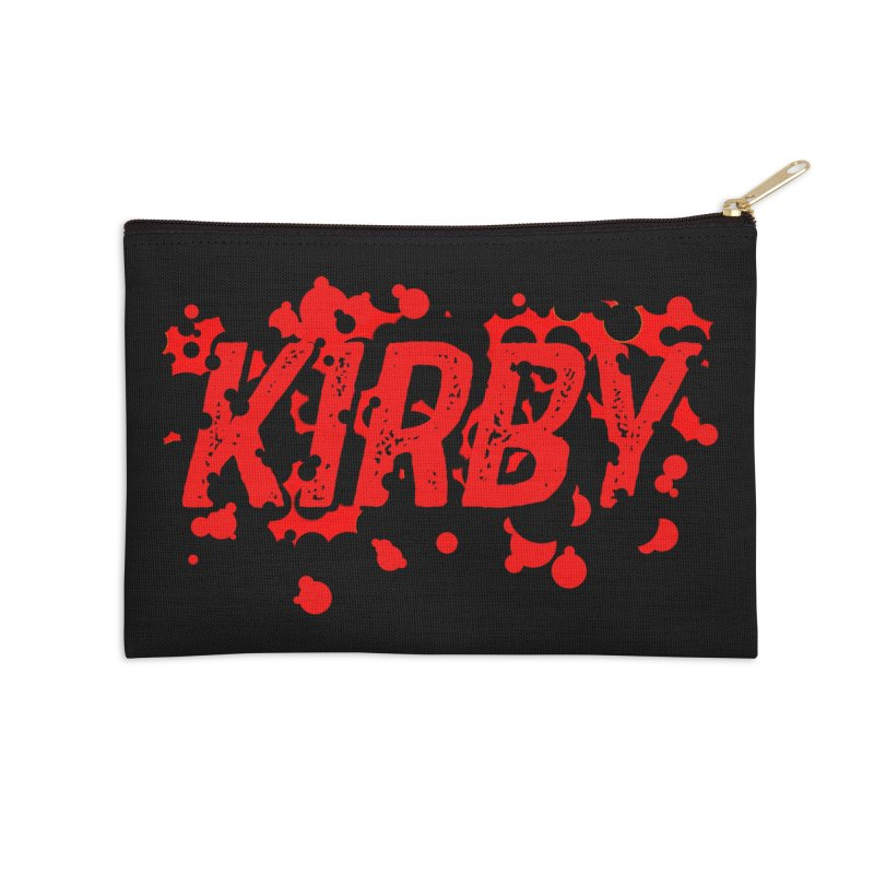 Kirby! Accessories Zip Pouch by Chris Williams' Artist Shop