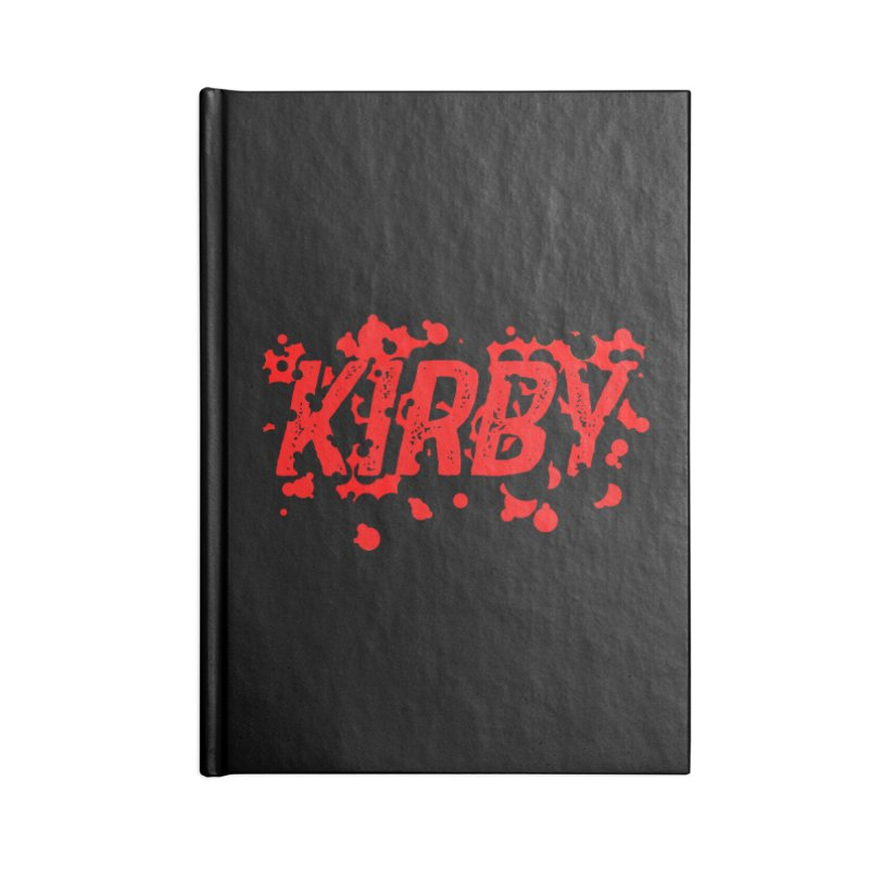 Kirby! Accessories Lined Journal Notebook by Chris Williams' Artist Shop