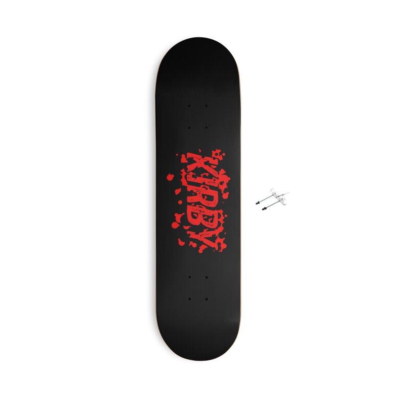 Kirby! Accessories Skateboard by Chris Williams' Artist Shop