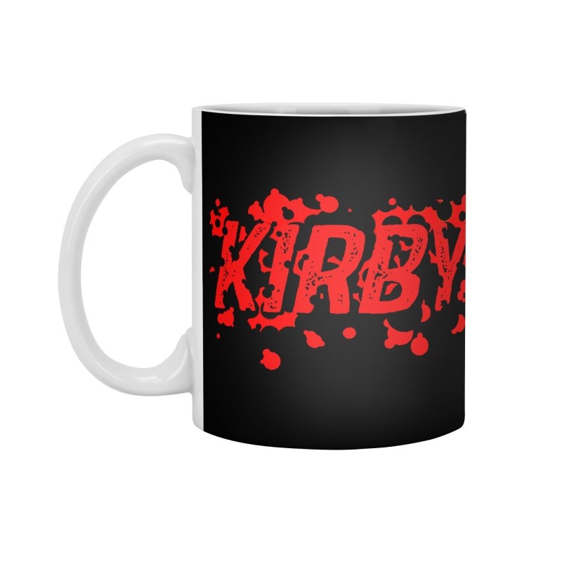 Kirby! Accessories Standard Mug by Chris Williams' Artist Shop