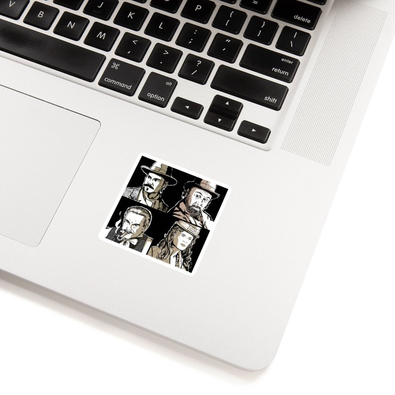 Deadwood, Part One Accessories Sticker by Chris Williams' Artist Shop