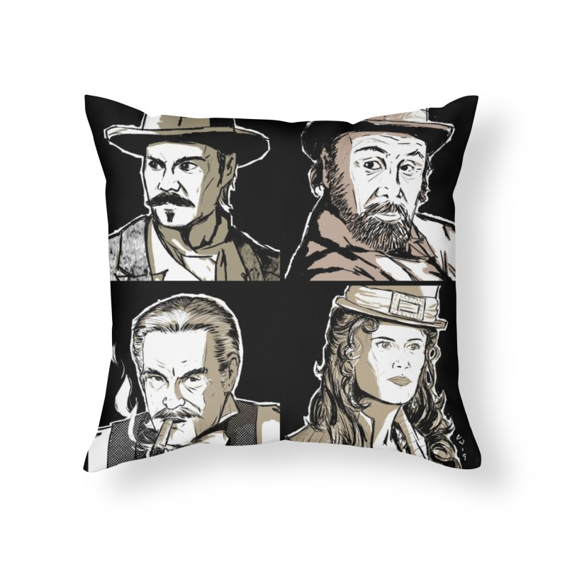 Deadwood, Part One Home Throw Pillow by Chris Williams' Artist Shop