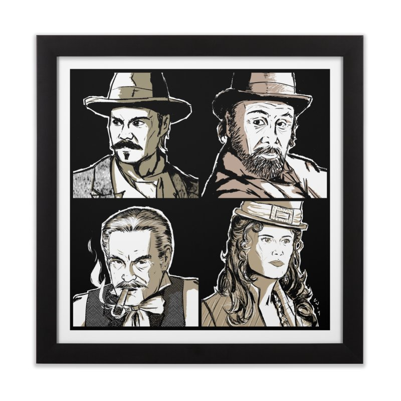 Deadwood, Part One Home Framed Fine Art Print by Chris Williams' Artist Shop
