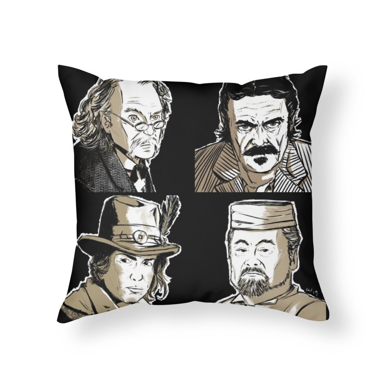Deadwood, Part Two Home Throw Pillow by Chris Williams' Artist Shop