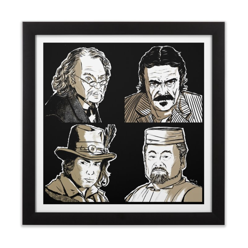 Deadwood, Part Two Home Framed Fine Art Print by Chris Williams' Artist Shop