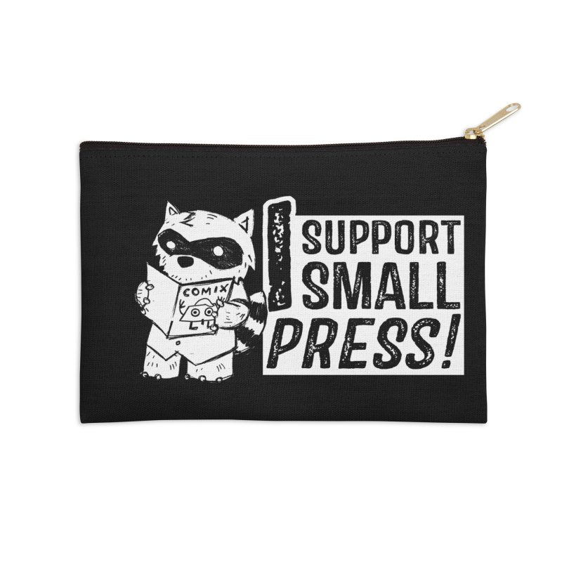 I Support Small Press! Accessories Zip Pouch by Chris Williams' Artist Shop