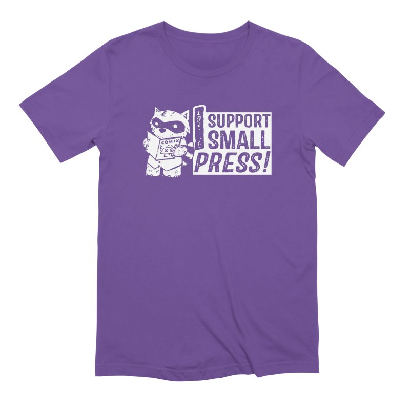 I Support Small Press! Men's Extra Soft T-Shirt by Chris Williams' Artist Shop