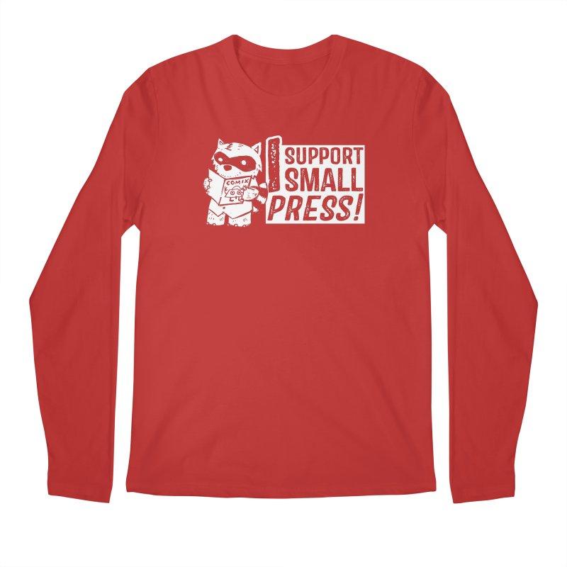 I Support Small Press! Men's Regular Longsleeve T-Shirt by Chris Williams' Artist Shop