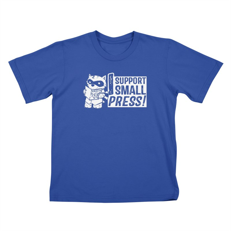 I Support Small Press! Kids T-Shirt by Chris Williams' Artist Shop
