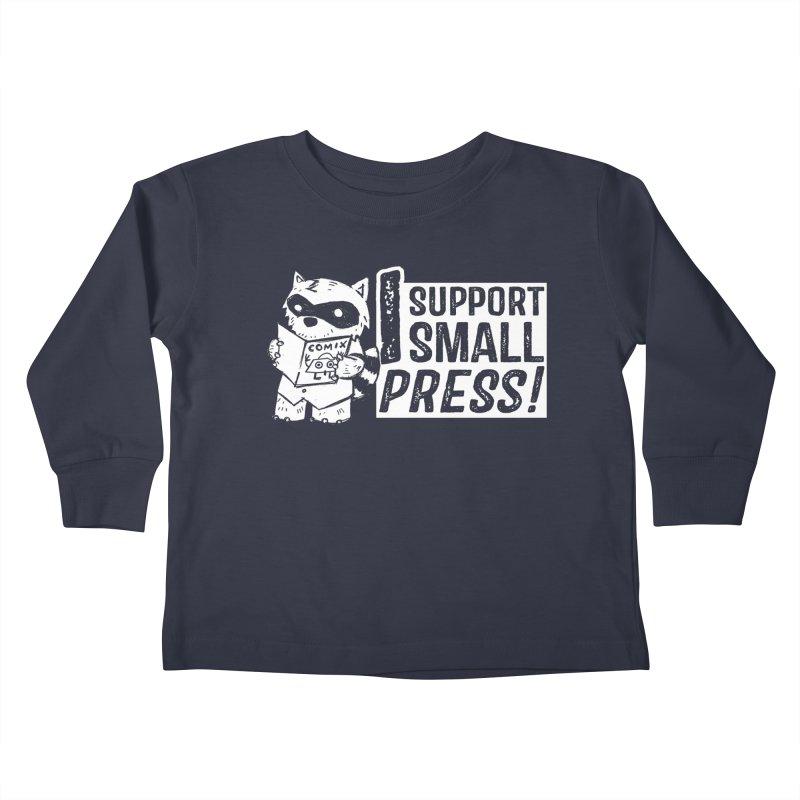 I Support Small Press! Kids Toddler Longsleeve T-Shirt by Chris Williams' Artist Shop