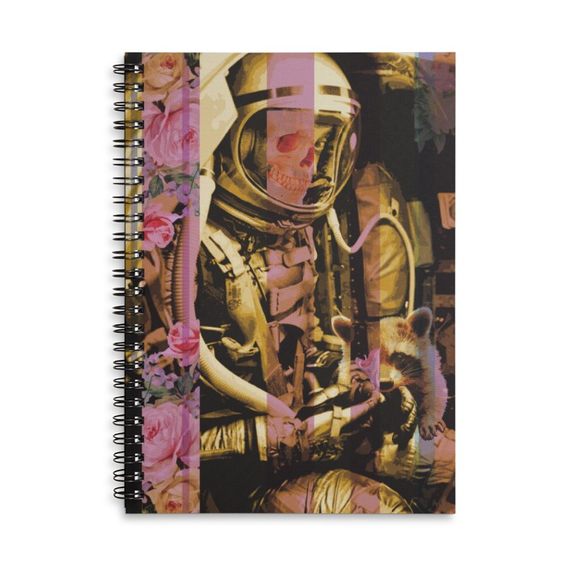 New Year, New You Accessories Lined Spiral Notebook by Chris Williams' Artist Shop