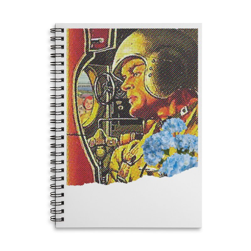 Gone and Fogotten Accessories Lined Spiral Notebook by Chris Williams' Artist Shop