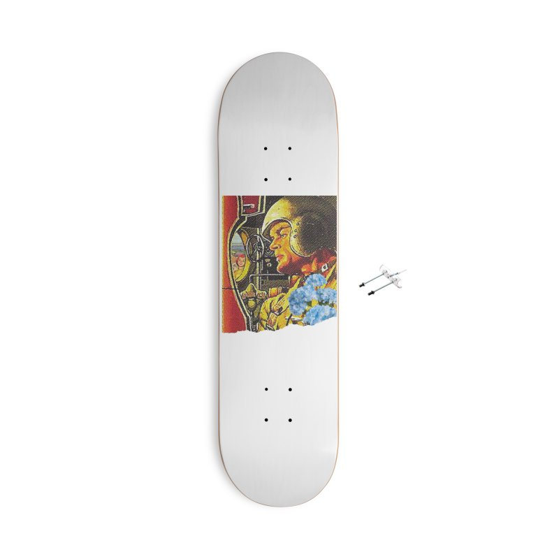 Gone and Fogotten Accessories With Hanging Hardware Skateboard by Chris Williams' Artist Shop