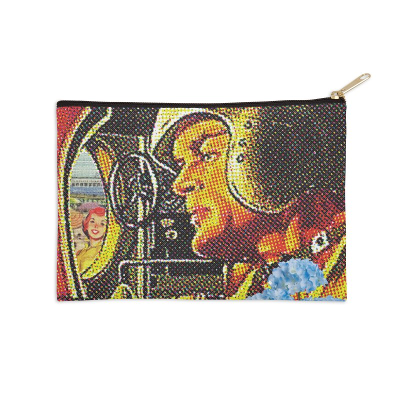 Gone and Fogotten Accessories Zip Pouch by Chris Williams' Artist Shop