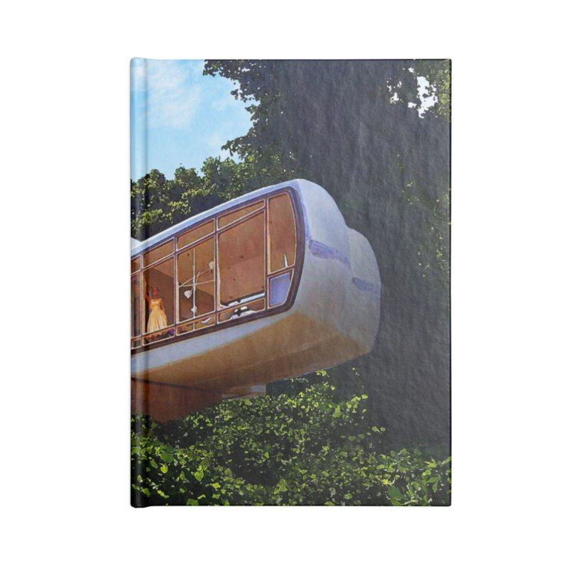 The House of the Future Accessories Lined Journal Notebook by Chris Williams' Artist Shop