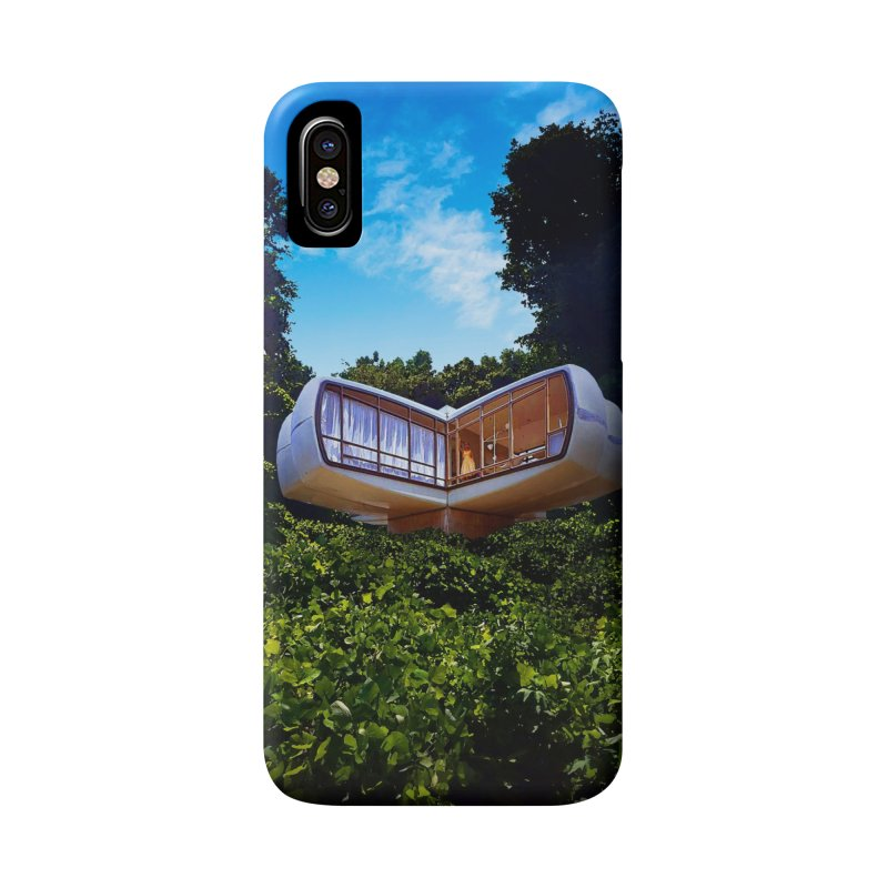 The House of the Future Accessories Phone Case by Chris Williams' Artist Shop